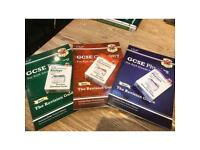 GCSE Physics, Biology, Chemistry revision guides and revision question cards packs