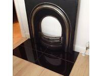 Cast iron Edinburgh Crown Fireplace Insert £150