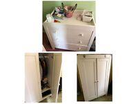 Changing unit & wardrobe