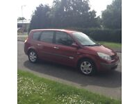 2005 55 Renault Megane grand scenic Dynamique 7 seats just been MOT D serv/hist