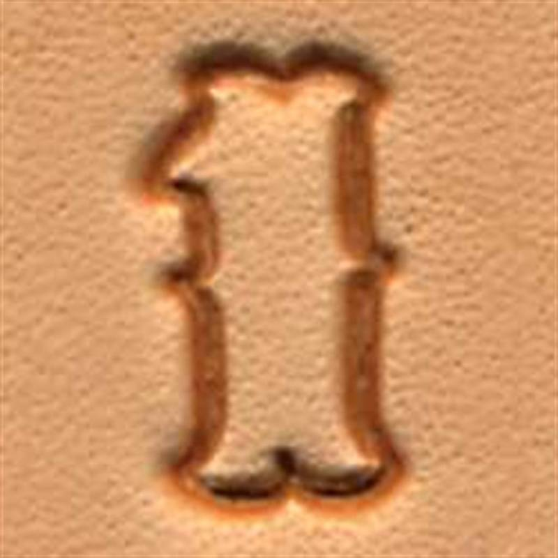 """Craftool 1/2"""" Standard Number Stamp Set 8136-00 by Tandy Leather"""