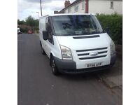 Ford transit s.w.b . 2006 , great running van needs new rear brakes but still in daily use