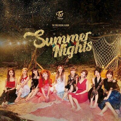 TWICE [SUMMER NIGHTS] Album 3 Ver SET 3CD+3Photo Book+24p Card+3Lyrics SEALED