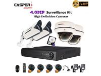 CCTV 4CH DVR 4MP Full HD 1440P Camera Night Vision Home/Shop Security System