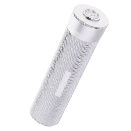Aluminum Travel Cigar Tube with Hygrometer & Humidifier Stor