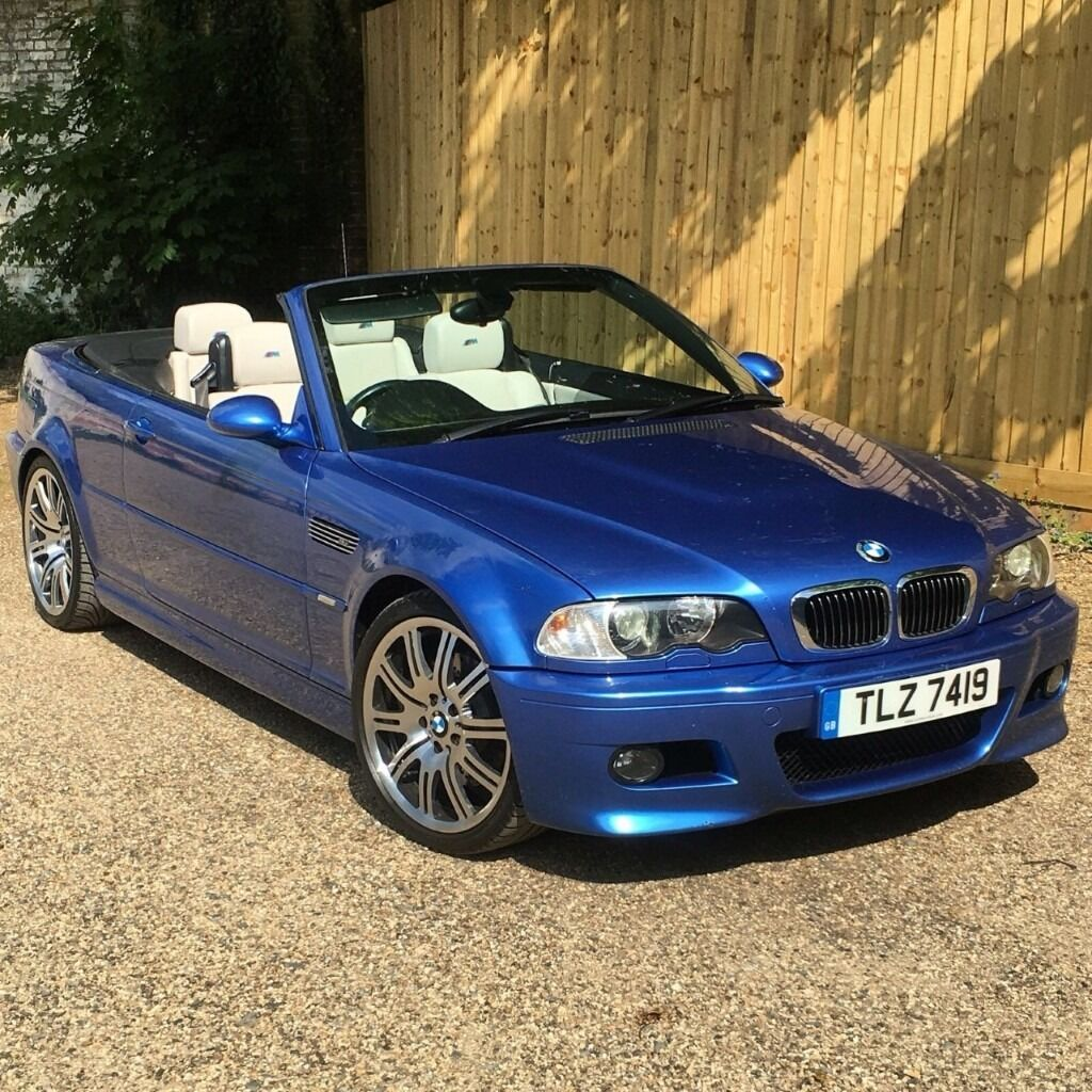 Bmw E46 M3 2003 Facelift Individual Convertible Estoril Blue 163 12995 In Chesham