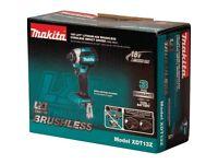 Makita XDT13Z 18V Li-Ion 1/4 Hex Cordless Brushless Impact Driver Replaces XDT08Z