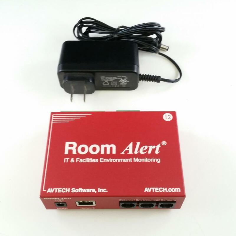 Avtech RA12-188335 Room Alert 12E Temperature Environment Monitor