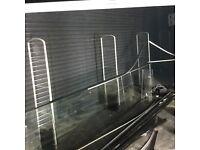 Reclaimed 2 number roller shutter doors 8mx 5m