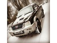 Mitsubishi l200 2.8 automatic import. Very rare!