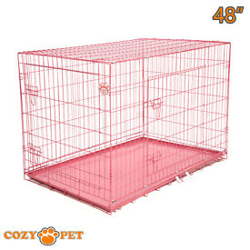 xxl dog crate / cage / choose colour. 48 inch puppy kennel