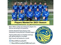 Players Wanted Ladies Football