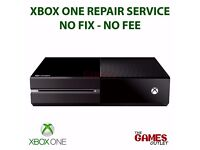 GAMES CONSOLE REPAIR - XBOX ONE REPAIR SERVICE - NO FIX / NO FEE