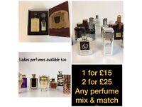 Ladies and gents Arabic perfumes
