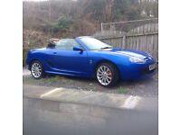 Trophy Blue MGTF. 1800cc