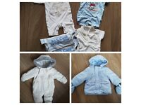 Large bundle of newborn clothes, some unisex, some boys. 125+ items