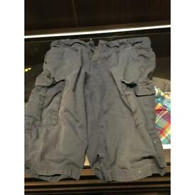 Blue Zoo age 14 trekking shorts