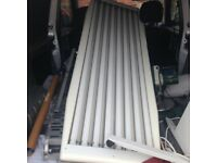 Canopy sunbed vertical or horizontal