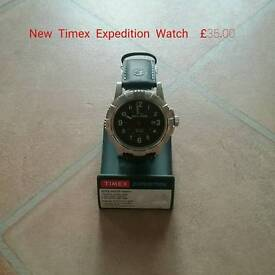 New Mens Timex Expedition Watch