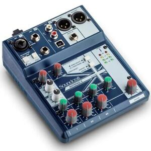 Open Box/Display Model - Soundcraft Notepad-5 Compact Analog Mixer with USB I/O Ontario Preview
