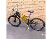 Saracen Raw duel suspension bike