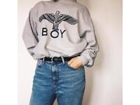 Oversized BOY jumper sweater