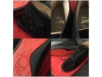 Loub's shoes not Prada