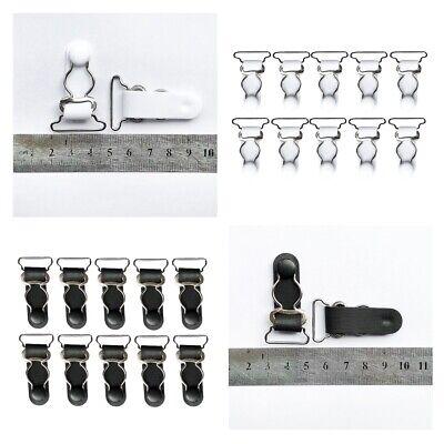 10x 20mm + 10x 26mm Garter Belt Straps Grips Corset Stockings Suspenders