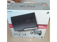 Playstation 3 console with 2 controller