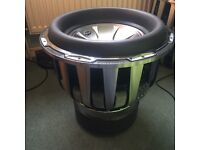 Earthquake holees 15inch subwoofer