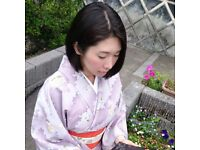 Japanese private lessons in Central London