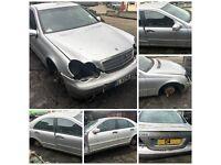 Mercedes C180 203 2004 1.8 Manual Petrol Brilliant Silver 744 (Bonnet) All Parts Available
