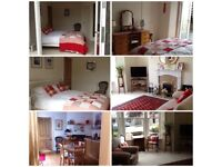 Superior double room with en suite available in 2 bedded flat