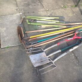 Garden tools assortment