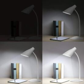 LED Desk Lamp 4.8W with Flexible Neck, Eye Protection