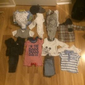 Various 3-6 months boys clothes