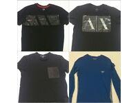 4 Armani T-Shirts