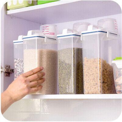 Vorratsbehälter Set mit Deckel 4er Set Frischhaltedosen Kunststoff