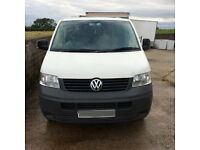 2005 Volkswagen transporter for parts or repair.