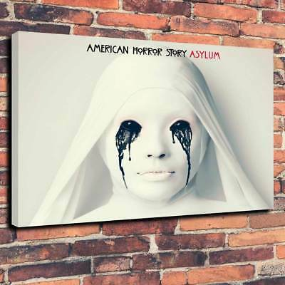 American Horror Story Asylum Canvas Print A1.30