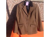 Show jacket used few times, dry cleaned