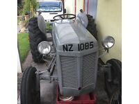 Ferguson 1950 Tractor for sale with brand new rear box