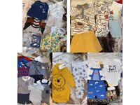 Baby boys 6-9 month clothing bundle and shoes