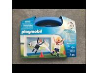 Unopen, brand new Football playmobil