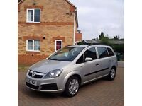 VAUXHALL ZAFIRA 1.6, MOT 12 MONTHS, ONE PREVIOUS OWNER, FULL HPI CLEAR