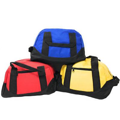 "12"" Duffel Duffle Travel Sports Gym Bags Mini Carry-on Lugga"