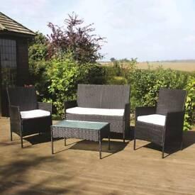 Brand new Rattan garden furniture set FREE POSTAGE UK