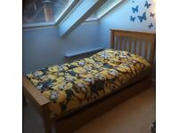 Single pine trundle bed from Marks & Spencer SOLD