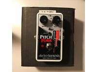 Electro Harmonix Pitch Fork Pitch Shifter, Octave and Harmony Guitar Pedal