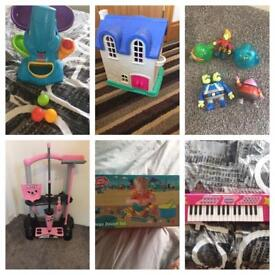 Childrens toys £4 each